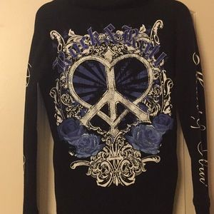 Black Rock & Roll Cowgirl Long Sleeve